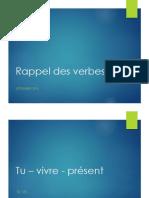 Rappel Des Verbes1