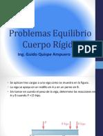 Presentacion N_ 5 Problemas Equilibrio Cuerpo Rigido