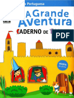 Caderno de escrita lingua portuguesa 2 ano A grande aventura