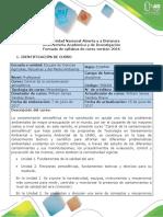 Syllabus Del Curso Control de La Contaminación Atmosférica - 358008