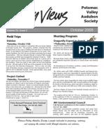 October 2005 Valley Views Newsletter Potomac Valley Audubon Society