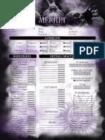 Clã Mekhet Editável 2pgs