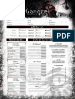 Clã Gangrel Editável 2pgs