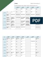 wk2 weekly schedule