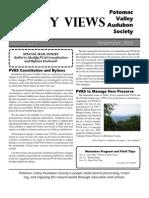 November 2006 Valley Views Newsletter Potomac Valley Audubon Society