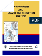 2. Environment and Hazard Risk Reduction Analysis