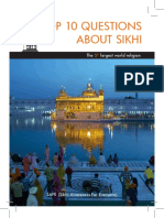 ENGLISH - top ten question about sikhi