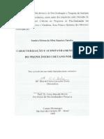 Caracterização Pre Polimero Uretano
