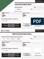 Formato Servicios Publicos 2015