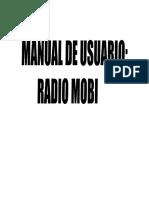 Manual Radio Mobile