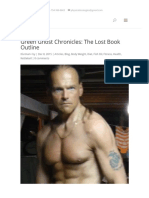 Green Ghost Chronicles_ the Lost Book Outline - Tom Furman Fitness