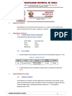 1.0 Memoria Descriptiva General