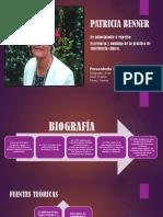 Patricia Benner y Callixta Roy- Modelos y Teoria