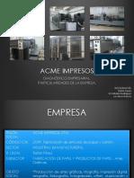 Empresa Acme Impresos Ltda