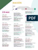 Programación Feria del Libro Ricardo Palma 2017