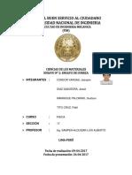 Informe 2 de Ciencias de Los Materiales