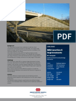 RS - Case History of Reinforced Earth Abutments Used on 28m Span Integral Bridge on M62 Junction 6 (RECo, 2007)