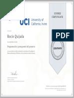 Coursera GU3J976HFULK