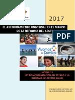 El Aseguramiento Universal en El Marco de La Reforma de Salud_modulo i
