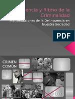 Tendencia y Ritmo de La Criminalidad