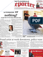 Aug. 27 edition of the Cloverdale Reporter newspaper