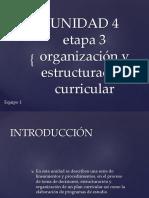Unidad 4 Diseño Curricular