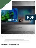 El HDR de Samsung QLED ahora ofrece aún más calidad