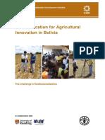 Comunicacion en Bolivia FAO