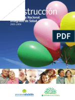 11. La Construcción Del SNIS (2005-2009)