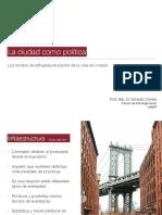 La ciudad como política | Gonzalo Correa