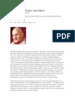 Juan XXIII Grata Recordatio
