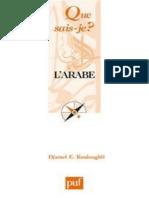 l'Arabe - Djamel Eddine - Histoire