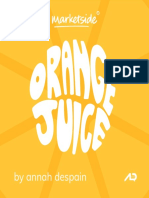 Marketside Orange Juice Pitchbook
