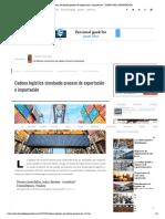 Cadena logística simulando proceso de exportación e importación - DIARIO DEL EXPORTADOR