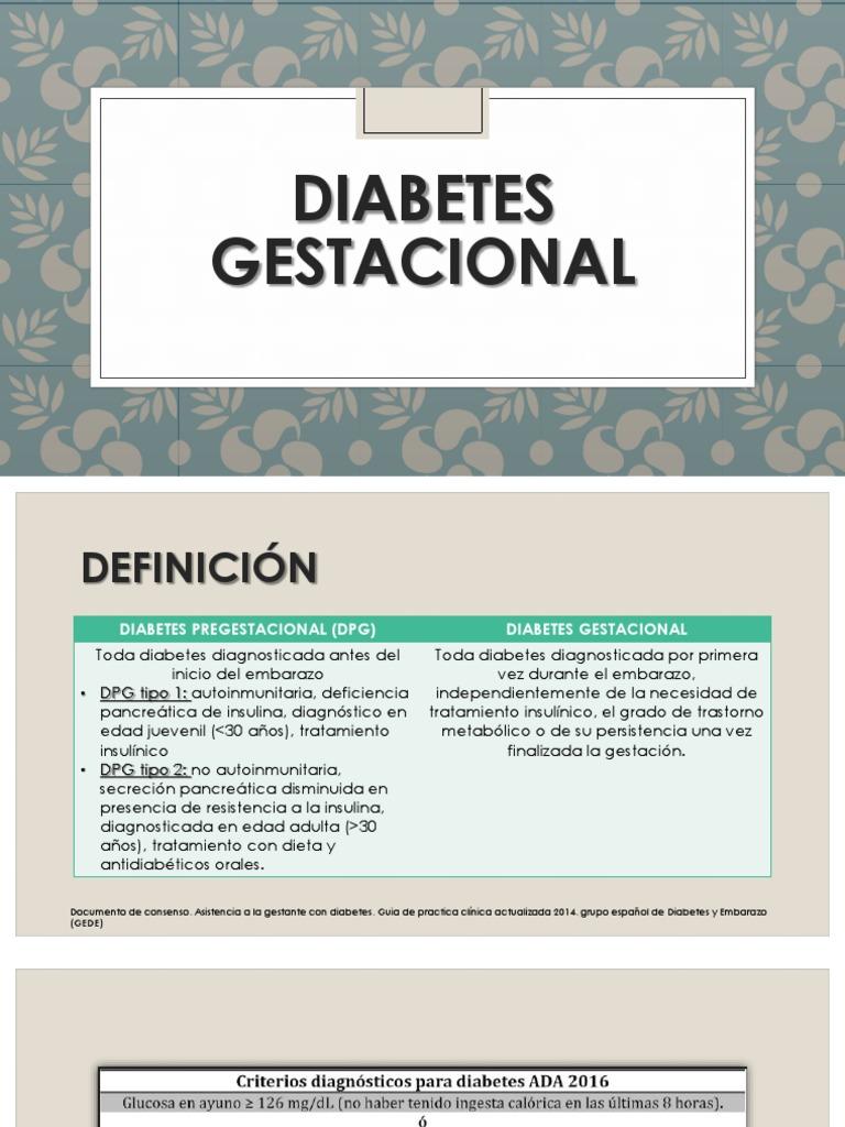 folleto de dieta de diabetes gestacional para el embarazo