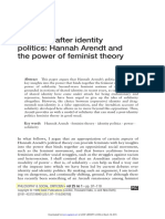 [AMY ALLEN]Solidarity After Identity - Hannah Arendt and the Power of Feminist Theory