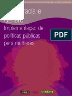 Democracia Gênero Politica