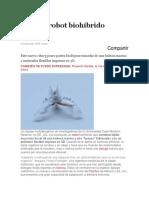 Llega El Robot Biohíbrido