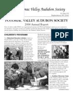 2006 Annual Report Potomac Valley Audubon Society