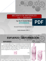 Res. de Materiales - Esfuerzo Simple y Doble