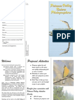 Potomac Valley Audubon Society Membership Form