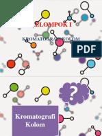 Kelompok 1. Kromatografi Kolom