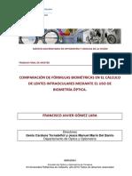 TFM Fórmulas Biométricas.
