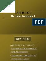 Revisión Geodesia I
