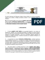 Pronunciamiento Ayahuasca Internacional