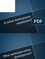 Urban Development Presentation for SD 301 class