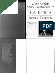 Para qué sirve realmente la ética - Adela Cortina