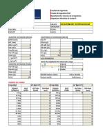 Formato de Datos Consolidación