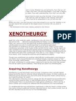 xenotheurgy