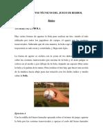 Fundamentos Técnicos Del Juego de Beisbol